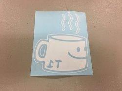 画像1: T-1 Terrible Coffee Die Cut Sticker