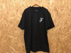 画像1: [SALE] FURTHER - Casual F Tee (Black)