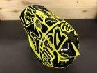 他の写真2: [在庫処分SALE] Troy Lee D3 Fiber Lite Helmet (Factory Flo Yellow)