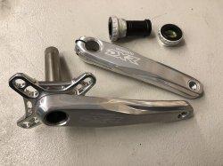 画像1: Shimano DXR FC-MX71 Crank Set