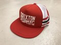 [SALE] BRIXTON - Conventry Mesh Snapback (Red)