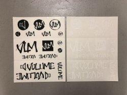 画像1: Volume Sticker Sheet [28x21.5cm]