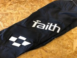 画像1: [SALE] Faith Race Eclipse Pants Black/White