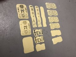 画像1: Fiend Palmere V3 Sticker Pack