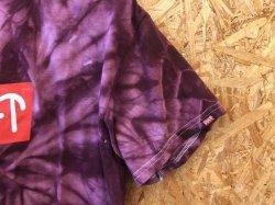 画像3: Cult Logo18 Tee (Maroon Tie-Dye)