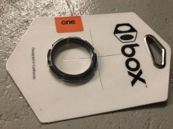 画像1: Box One 8Prong Lock Ring