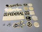 他の写真1: Federal Sticker Pack of17