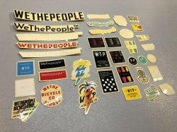 画像1: WeThePeople Brand Sticker Pack [2020]