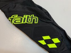 画像1: 2020 Faith Eclipse3 Pants Black/Yellow