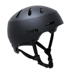画像1: Bern Helmet Macon 2.0 (Matt Black)