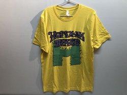 画像1: Hoffman Flaming H Logo Tee (Yellow)