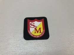 画像1: S&M Square Shield Patch
