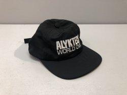 画像1: Alyk. World Over Embroidered 6Panel Nylon Hat