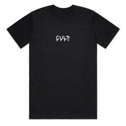 画像2: Cult Embroidered Logo Tee