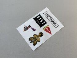 画像1: Fist Assorted Sticker Sheet