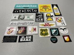 画像1: S&M Assorted 20 Sticker Pack