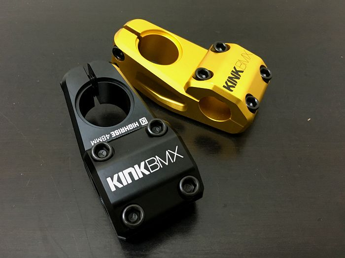 Kink Highrise Stem 48mm Black