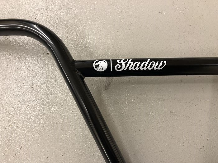 "SHADOW CONSPIRACY CROWBAR FEATHERWEIGHT BARS BMX BIKE S/&M CULT HARO 8.7/"" BLACK"